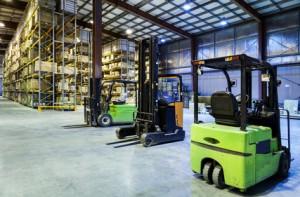 Chariots de manutention pour implantation d'entreprise