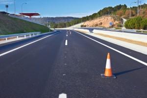 Marquage au sol pour les voies de circulation